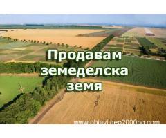 Продавам земеделска земя в област Пловдив, Пазарджик