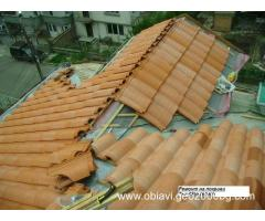 Ремонт на покриви в цяла България-строителна бригада за ремонт на покриви.
